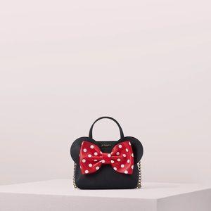 NWT Kate Spade Minnie Mouse Bow Disney Bag